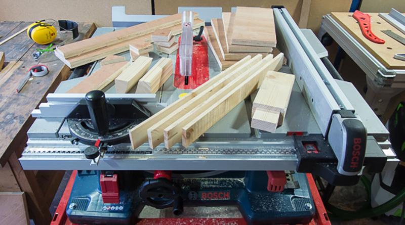 Comment installer une scie sur table?